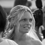 On my wedding day!