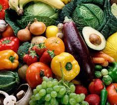 Rainbow of food!