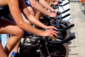 Spin class!