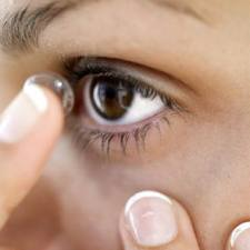 The inconvenience of contact lenses