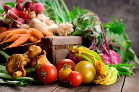 Healthy, organic produce