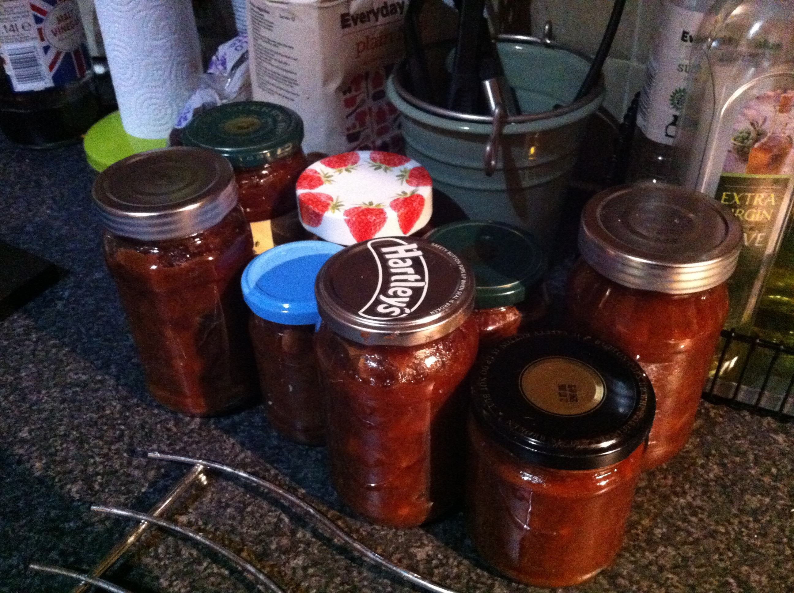 To this! - My first lot of apple chutney