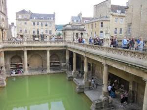 The famous baths of Bath!