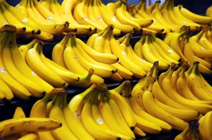 Bananas - full of potassium