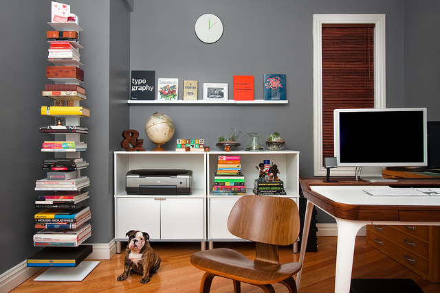Example of Home Office Work Space