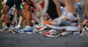 Running Shoes Race Prep