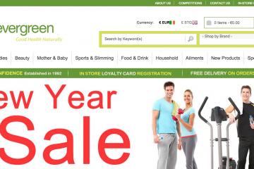 Online Health Food Shop