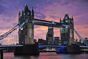 Iconic Tower Bridge, London