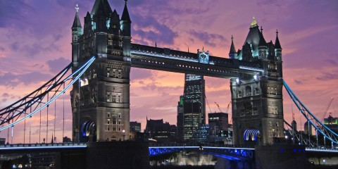 Iconic Tower Bridge, London