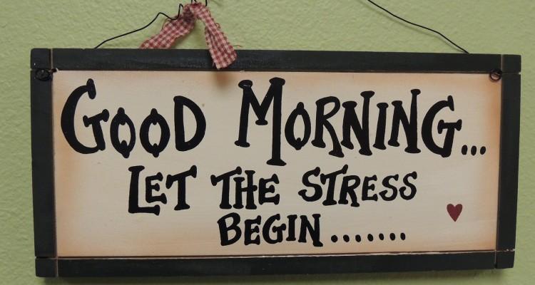 Stressful day