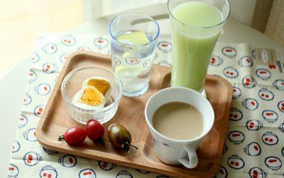 eggs and tea