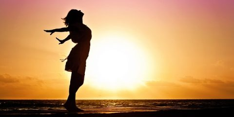 woman recovery in health