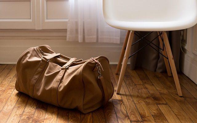 luggage for a weekend break
