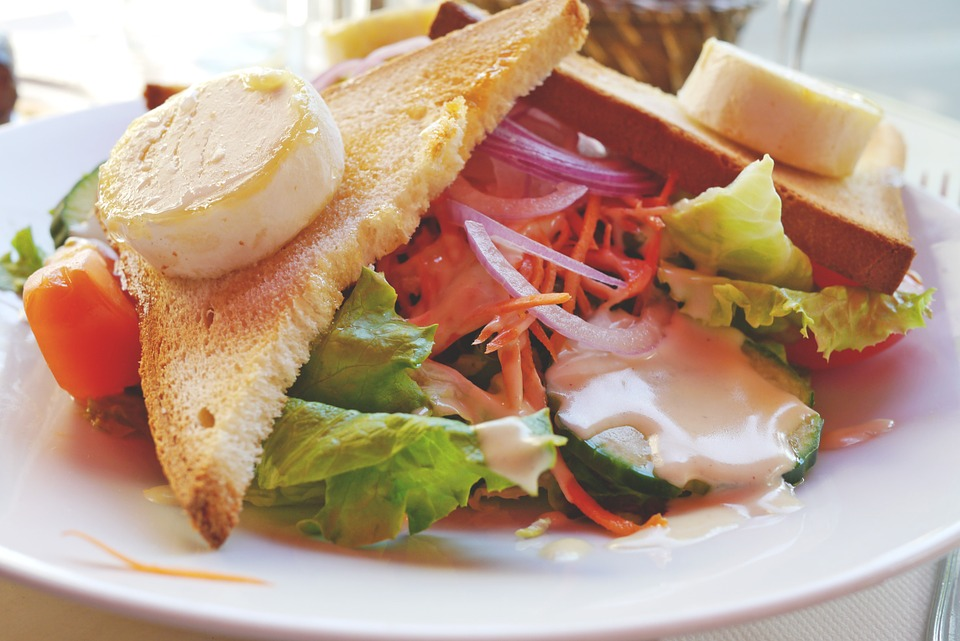 Salad Delicious Healthy Meal Starter Eat